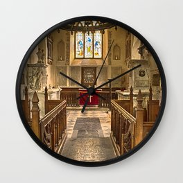 Knowlton Church Chancel Wall Clock