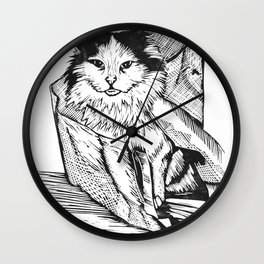 Rory In A Bag Wall Clock