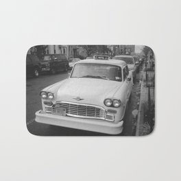 That's Classic Black and White Car Photography Bath Mat