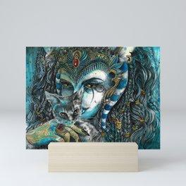 Goddess Bastet Mini Art Print