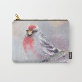 Winter Red-poll Carry-All Pouch