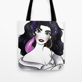 Esmeralda - flower collection Tote Bag