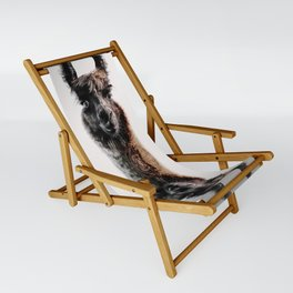 FLUFFY LAMA Sling Chair