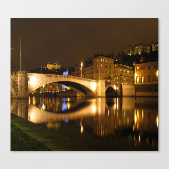 The Bonaparte bridge Canvas Print