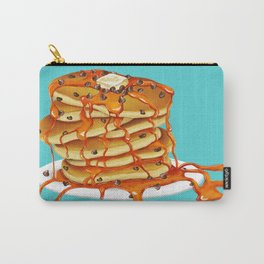 Ooey Gooey Chocolate Chip Pancakes Carry-All Pouch