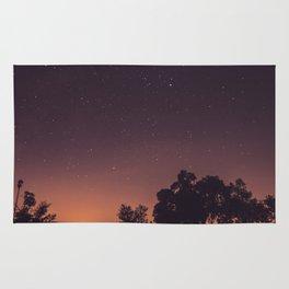 Sunset stars Rug