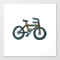 bike Canvas Prints featuring Bike by Jason Grube