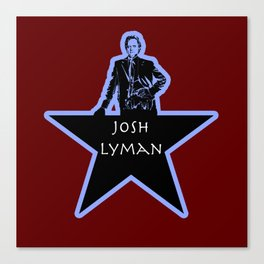Josh Lyman (Star)  Canvas Print