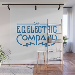 E.G. Electric Company Wall Mural