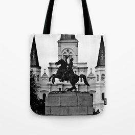 Jackson Square, squared Tote Bag