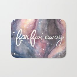 Far Far Away Bath Mat