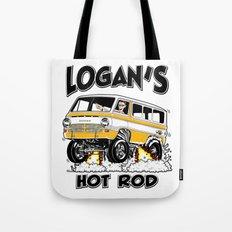 Logan's Hot Rod Van -1 rev2 Tote Bag