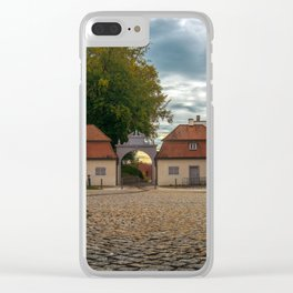 View to the entrance Clear iPhone Case