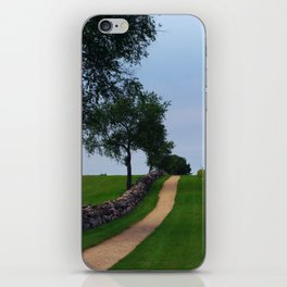Pathway to the sky iPhone Skin