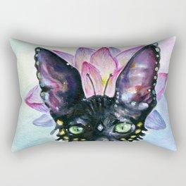 Cat Goddess Rectangular Pillow