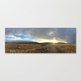 Land and Sky Canvas Print