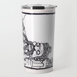 Bangkok : Wat Pho Temple Guardian Travel Mug