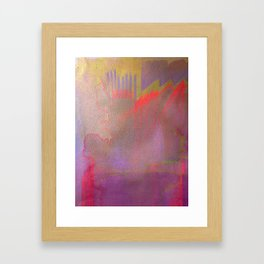 Neon District 1 Framed Art Print