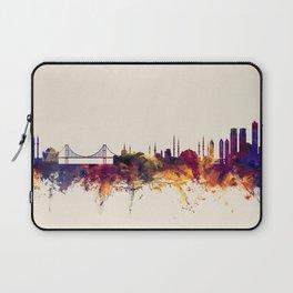 Istanbul Turkey Skyline Laptop Sleeve