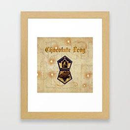 Chocolate Frog Framed Art Print