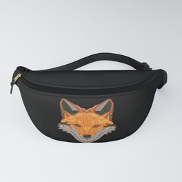 Fox Polygon Foxes Lovers Animal Gift Fanny Pack
