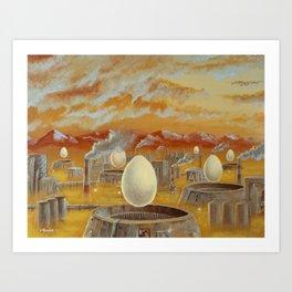 Industriepark Art Print