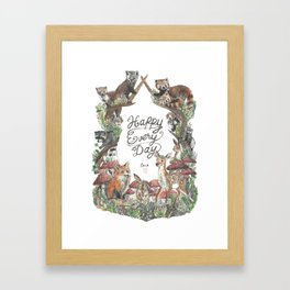 Happy Every Day! Framed Art Print