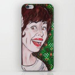 Carol Burnett iPhone Skin