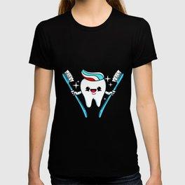 Happy Teeth Dentist T-shirt