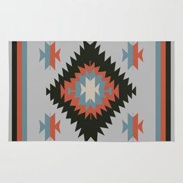 Southwestern Santa Fe Tribal Indian Pattern Rug
