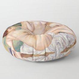 """Pierre-Auguste Renoir """"Les grandes baigneuses"""" Floor Pillow"""