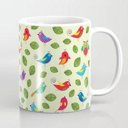 Birds pattern Coffee Mug