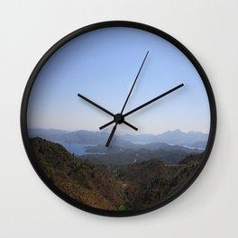 The Datca Peninsula Wall Clock