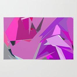 Purple Slice Rug