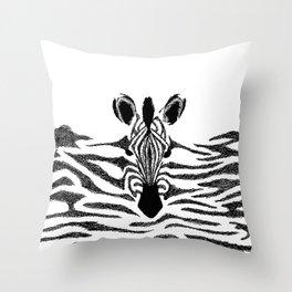 Zebra Throw Pillow