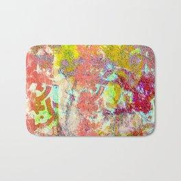 Living Coral abstract Bath Mat