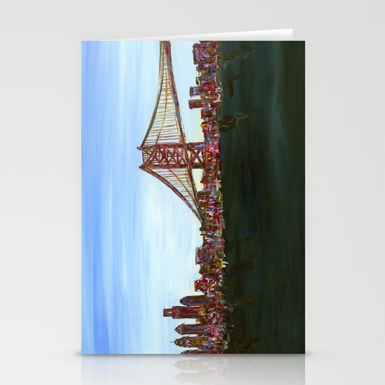 Ben Franklin Bridge Stationery Cards