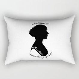 Jane Austen Rectangular Pillow