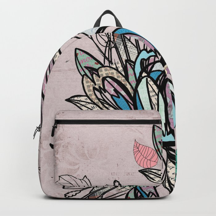 Paper Flowers #1 Backpack