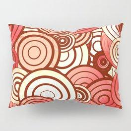 Layered random circles Pillow Sham