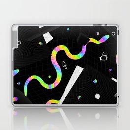 Glitchy Pixelated Snake Laptop & iPad Skin