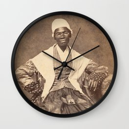 Sojourner Truth Vintage Photo, 1863 Wall Clock