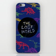 THE LOST WORLD iPhone Skin