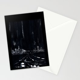 San Francisco Nightdrive Stationery Cards