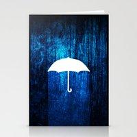 umbrella Stationery Cards featuring umbrella by Darthdaloon