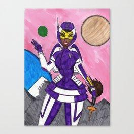 Asteroid Annie Canvas Print