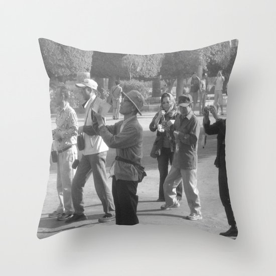 On The Other Side ... Throw Pillow
