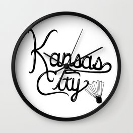 KC Wall Clock