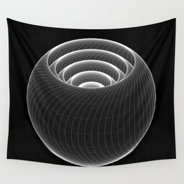 Lathe Layers Wall Tapestry