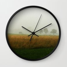 Brumes Wall Clock
